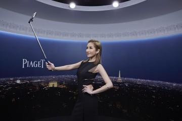 伯爵Possession 25周年 360度攝影體驗館開幕派對,天后蕭亞軒轉動輕珠寶時尚潮流,掌握360度美麗幸福