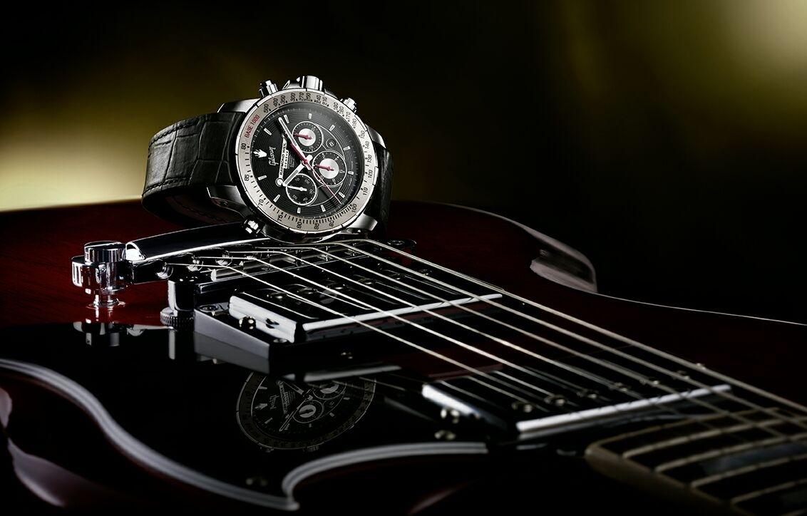 蕾蒙威推出靈感源自於GIBSON的NABUCCO音樂特別版腕錶