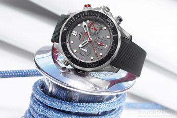 萬眾矚目第35屆美洲盃帆船賽,OMEGA推出全新限量海馬計時錶向紐西蘭酋長隊獻上致敬