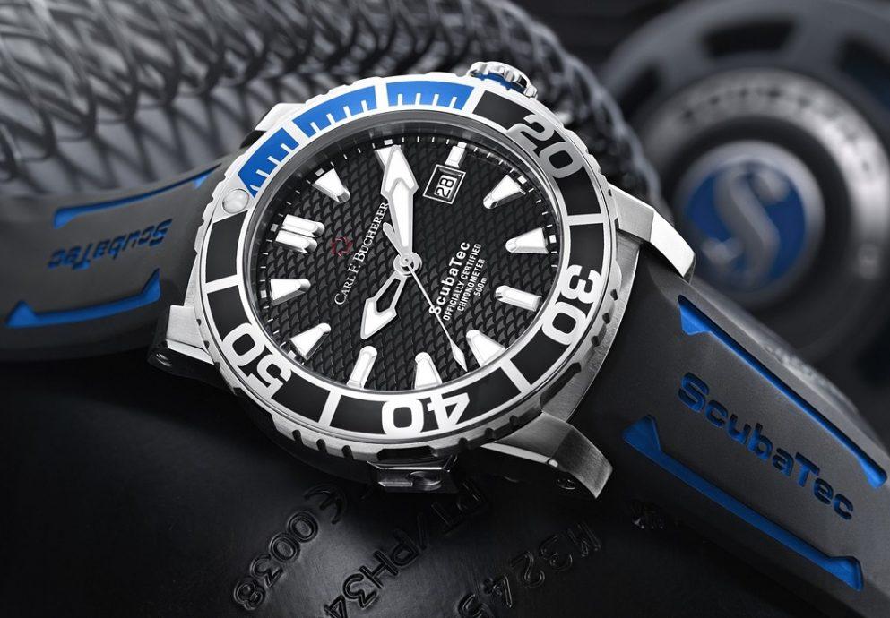 當代專業潛水儀器:寶齊萊Patravi 柏拉維系列ScubaTec 潛水腕錶