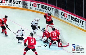 天梭表擔任IIHF 冰上曲棍球世界錦標賽官方指定計時廠商20週年