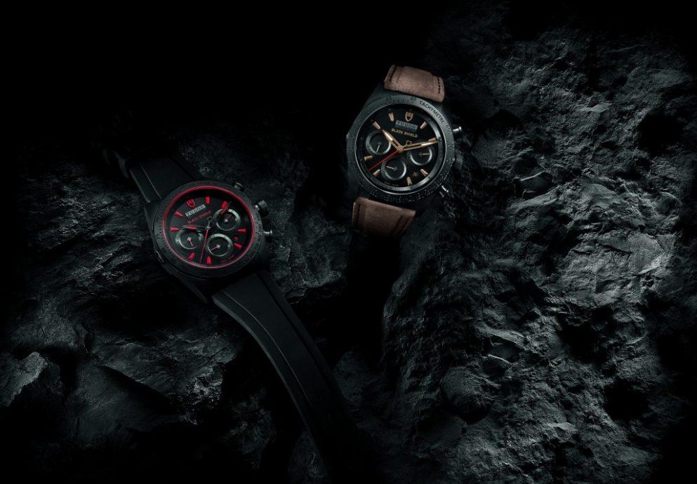 陽剛非凡的可靠腕錶:TUDOR Fastrider Black Shield