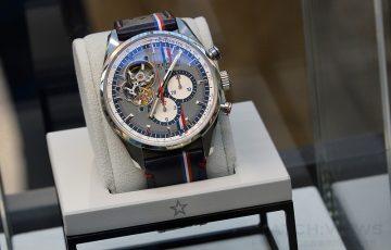 ZENITH擔任第24屆環法Optic 2000汽車拉力賽官方計時器,推出El Primero Chronomaster 1969 Tour Auto腕錶
