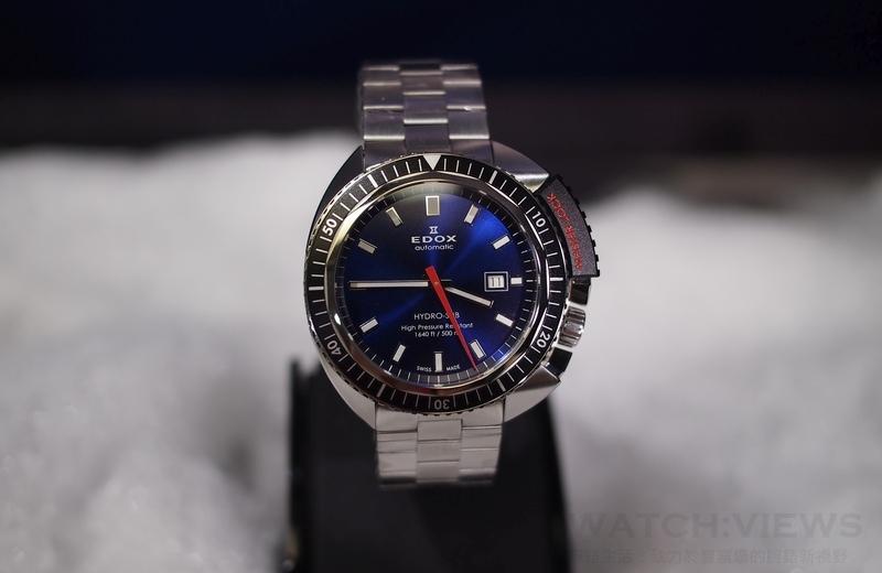 Edox Hydro Sub 北極潛水錶伴隨自由潛水好手Christian Redl成功挑戰北極嚴寒