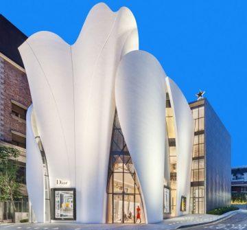 迪奧全球最大旗艦店:House of Dior綻放首爾青潭洞