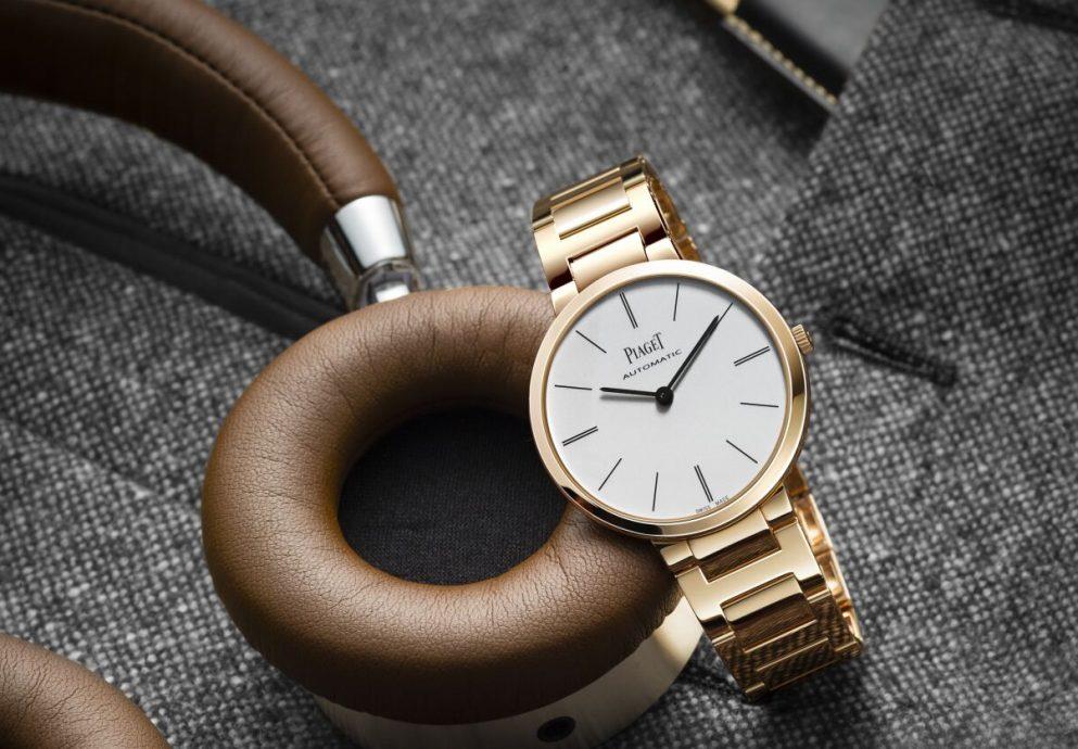 時尚都會風格的代表:Piaget Altiplano金質鏈帶系列