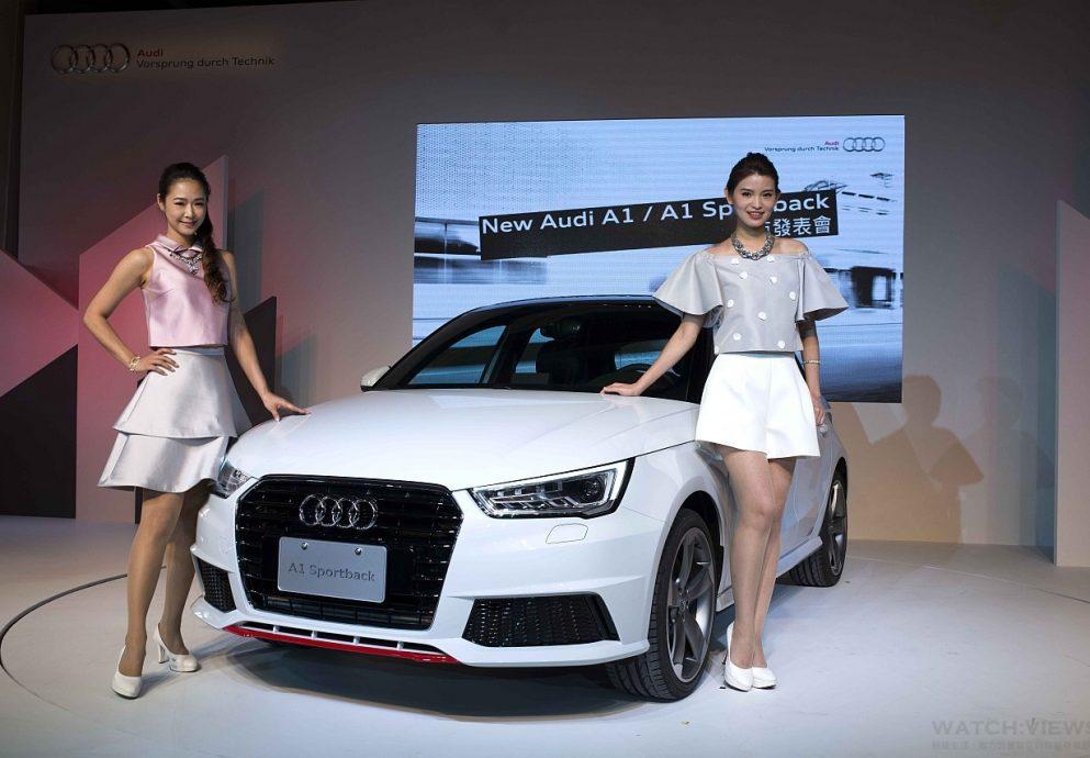 千變One化,獨一無二:四環品牌迷你掀背車最新力作New Audi A1 / A1 Sportback時尚都會雙星動感登場