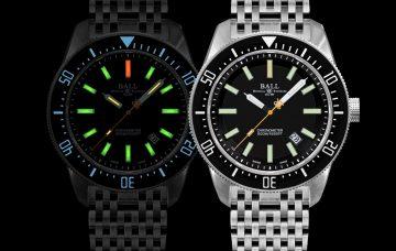 向波爾錶的製錶傳統致敬:Engineer Master II Skindiver II工程師長官升級系列潛游員升級型號