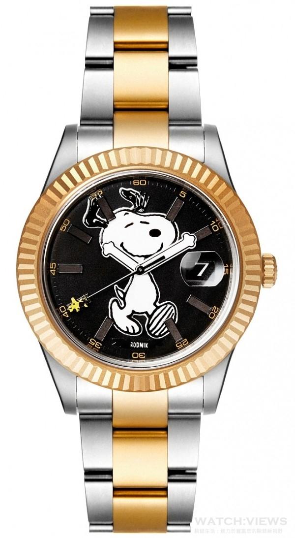 Bamford Watch Department Snoopy聯名款(Rolex Datejust),定價NTD860,000元 。
