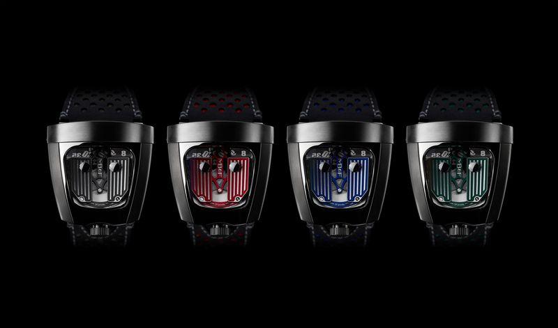 HMX  MB&F品牌創立10周年紀念鐘錶機器