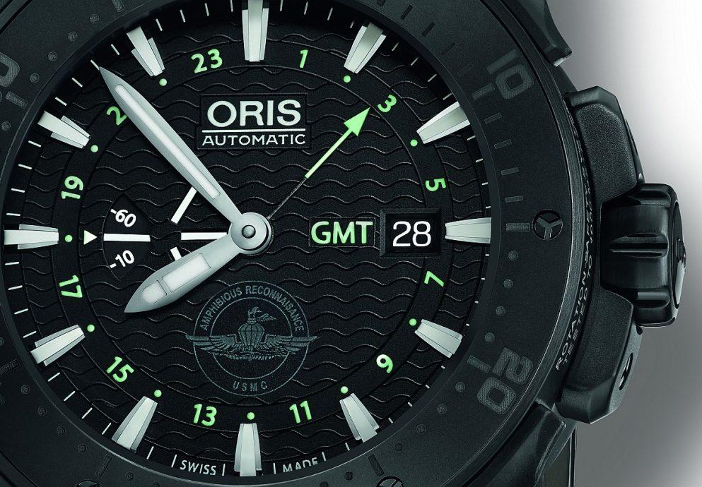 軍力展示:美國海軍陸戰武裝偵察部隊官方合作夥伴Oris 發表Force Recon GMT