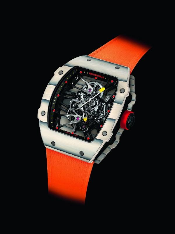 Richard Mille RM 27-02 RAFAEL NADAL納達爾陀飛輪腕錶