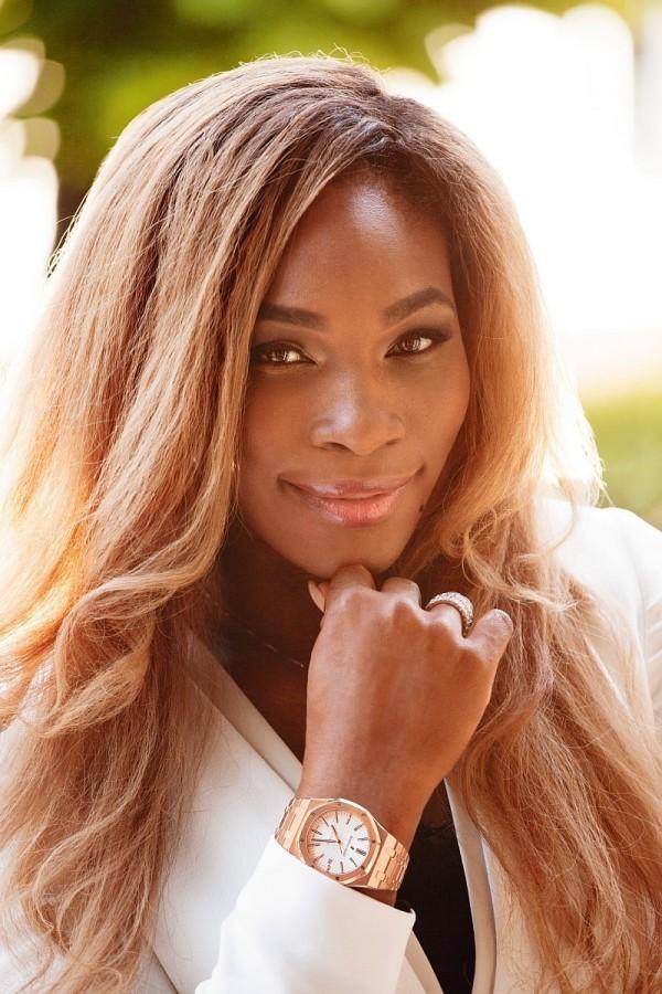 今年的法網女單冠軍小威廉絲(Serena Williams)也是愛彼錶之友