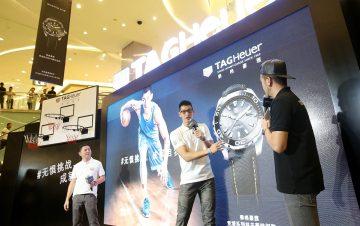 無懼挑戰,成就自我:林書豪攜TAG Heuer豪雅Aquaracer競潛系列特別款完勝北京大挑戰