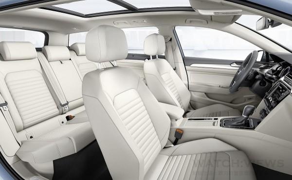 全新Passat擁有操作便利且質感優異的行駛座艙
