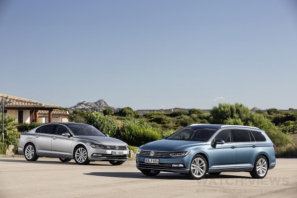 The new Passat-8