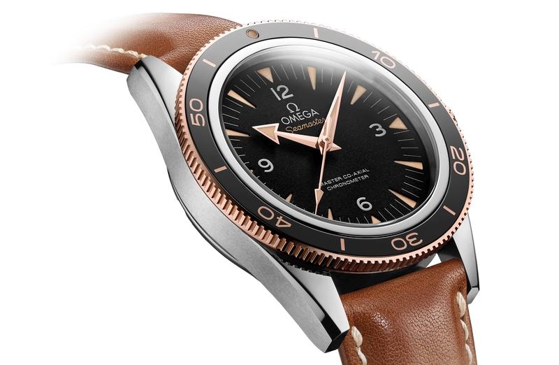 經典腕錶重現:全面升級革新設計OMEGA海馬300腕錶