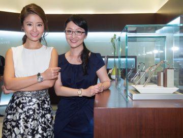 愛彼全新MILLENARY千禧系列錶款隆重上市 腕美女人林心如演繹千禧鑽錶的優雅風情