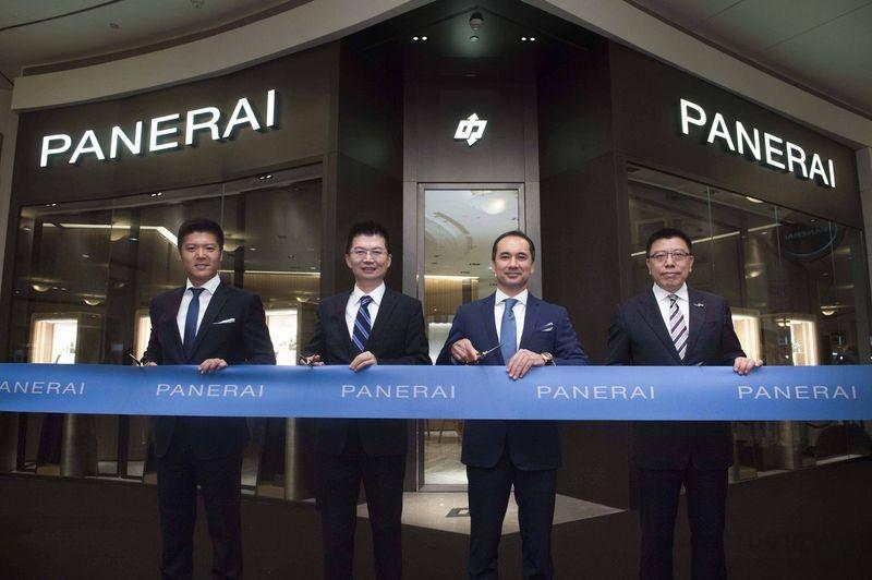 沛納海重新揭幕台北101專賣店 由名設計師PATRICIA URQUIOLA設計