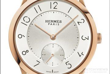 愛馬仕Slim d'Hermès腕錶 簡潔閒情逸趣