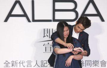 陽光暖男詮釋ALBA美好的一天:全新代言人劉以豪發表「即動宣言」