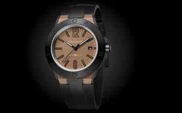 高科技材質造就全新風貌高性能腕錶:寶格麗Diagono Magnesium腕錶