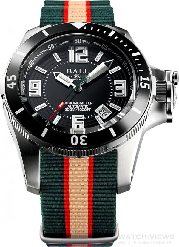 BALL Watch隆重推出Engineer Hydrocarbon Arctic Chronometer計時腕表