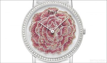 集藝術工藝大成:伯爵玫瑰的禮讚Piaget Art & Excellence 系列