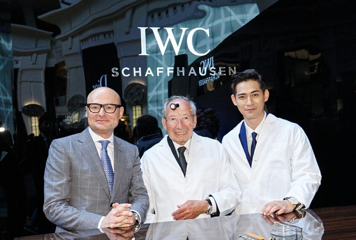 星光閃耀台北101:沙夫豪森 IWC萬國錶全新專賣店開幕