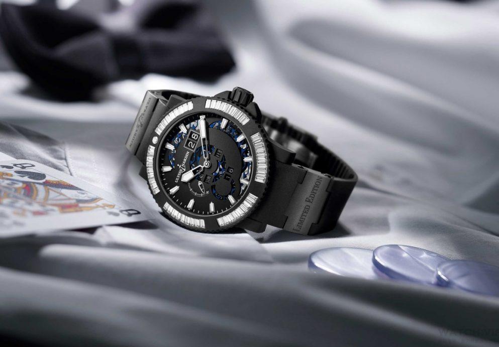 獨家首創「 3S 」鑽石鑲嵌工藝:ULYSSE NARDIN瑞士雅典錶全新《航海萬年曆腕錶》Marine Perpetual