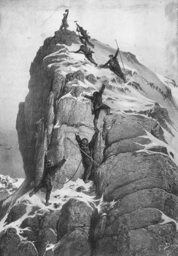 攀登馬特洪峰