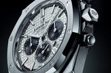 匯聚精湛工藝及優雅典範:Audemars Piguet呈獻2015年愛彼女皇盃皇家橡樹系列限量版計時碼錶