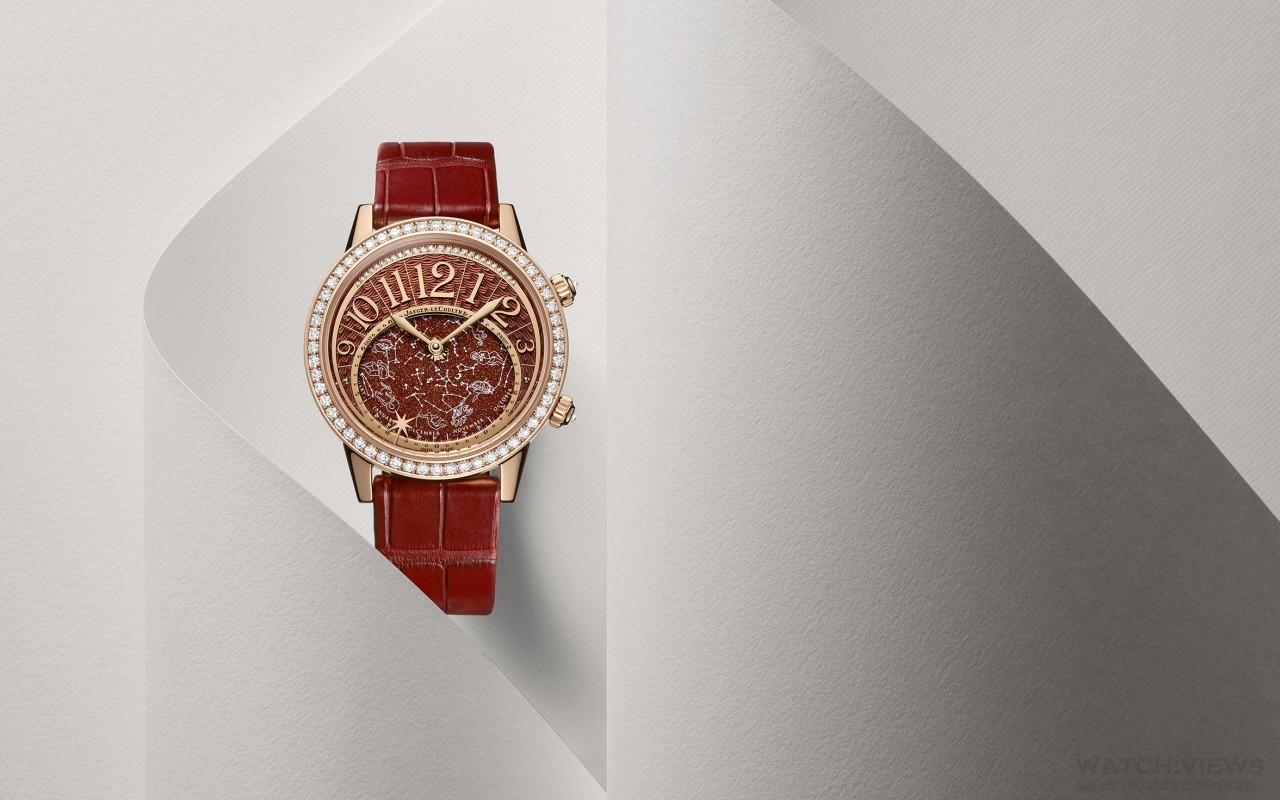 以變幻光華彰顯繁星璀璨之美:積家Rendez-Vous Celestial約會系列星空腕錶