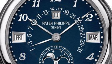 百達翡麗為Only Watch 2015推出5016A-010超級複雜功能腕錶