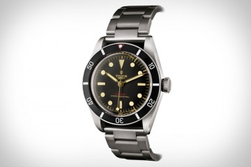 Tudor帝舵以1950年代經典潛水錶為藍本  打造2015年Only Watch慈善拍賣錶款Black Bay One
