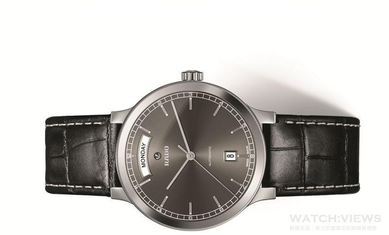 一日之計在於…  雷達表CENTRIX全新高科技陶瓷星期日曆自動錶