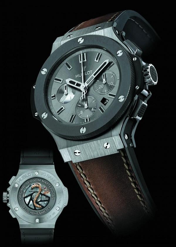 Big Bang Zermatt 腕錶鎢合金錶殼版本