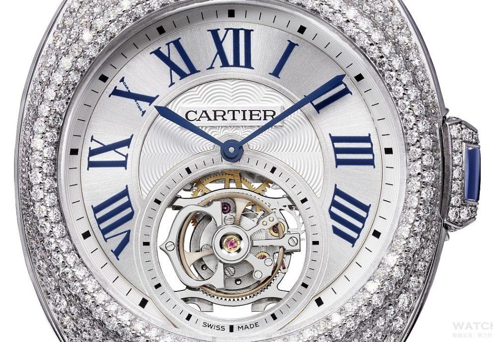 [2015 W&W]卡地亞推出Clé de Cartier浮動式陀飛輪腕錶,搭載9452 MC型機芯