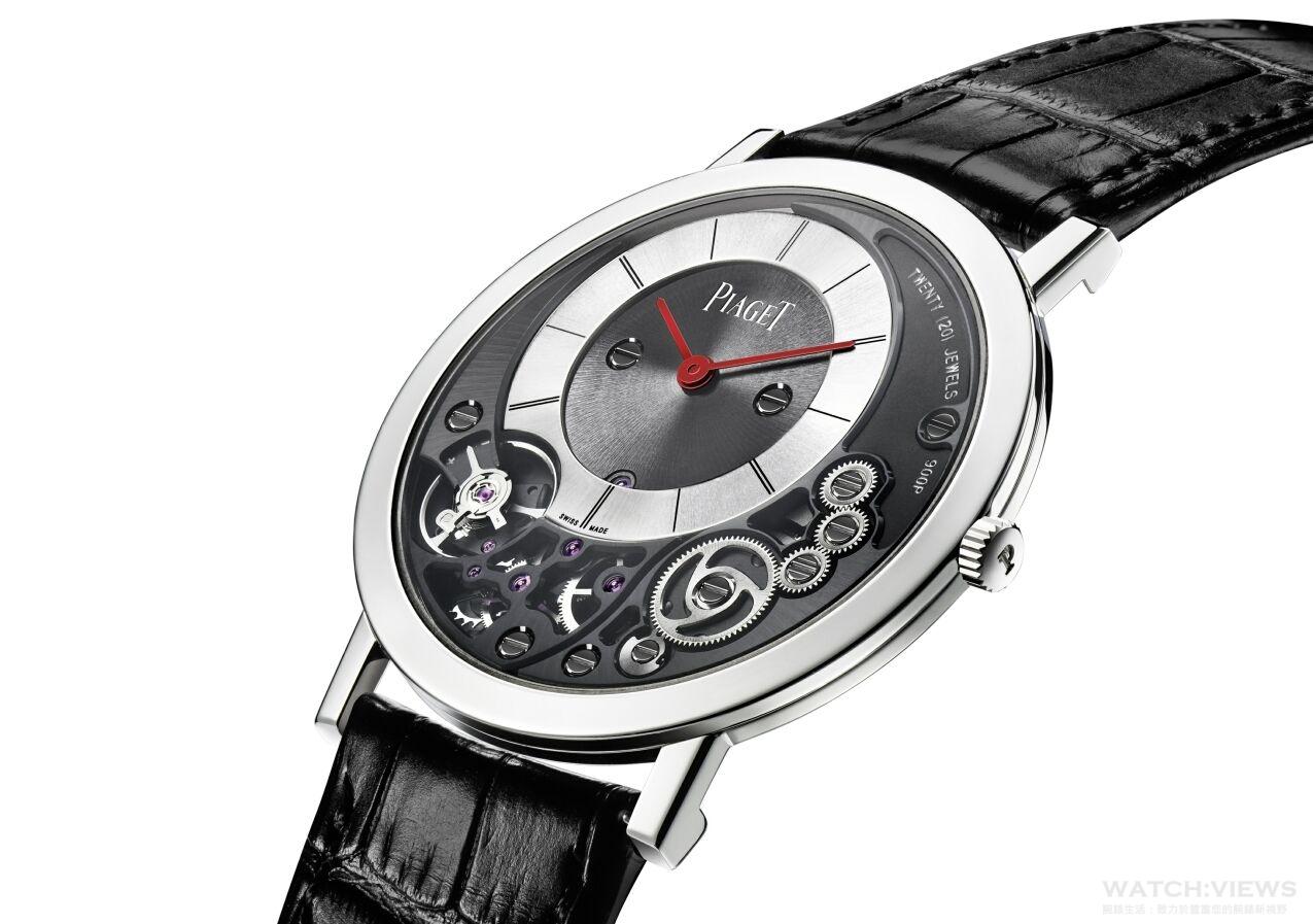 伯爵響應「Only Watch」慈善拍賣不遺餘力,2015年呈獻Altiplano 900P 38毫米特別版