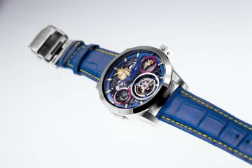 Memorigin萬希泉最新話題時計鉅作:鋼彈陀飛輪限量腕錶
