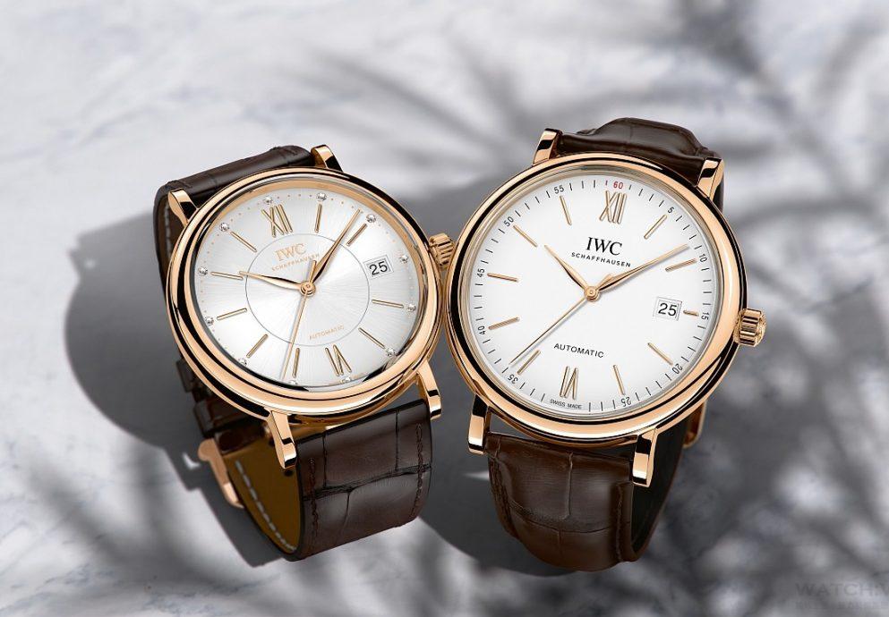 IWC萬國錶柏濤菲諾對錶愛戀恆久,永結良緣