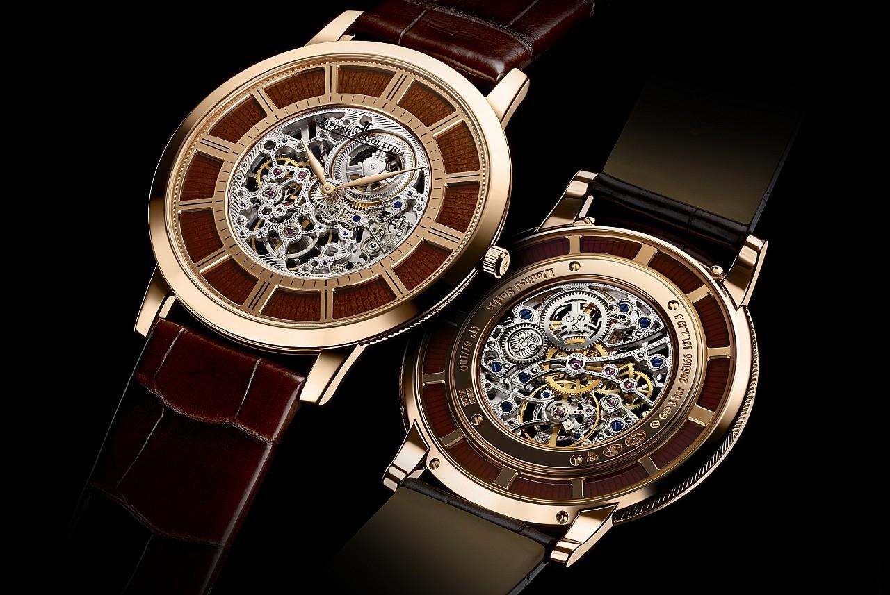 [2015 W&W] 製錶傳統與珍稀工藝完美融合:積家推出Master Ultra Thin Squelette超薄大師系列鏤空腕錶