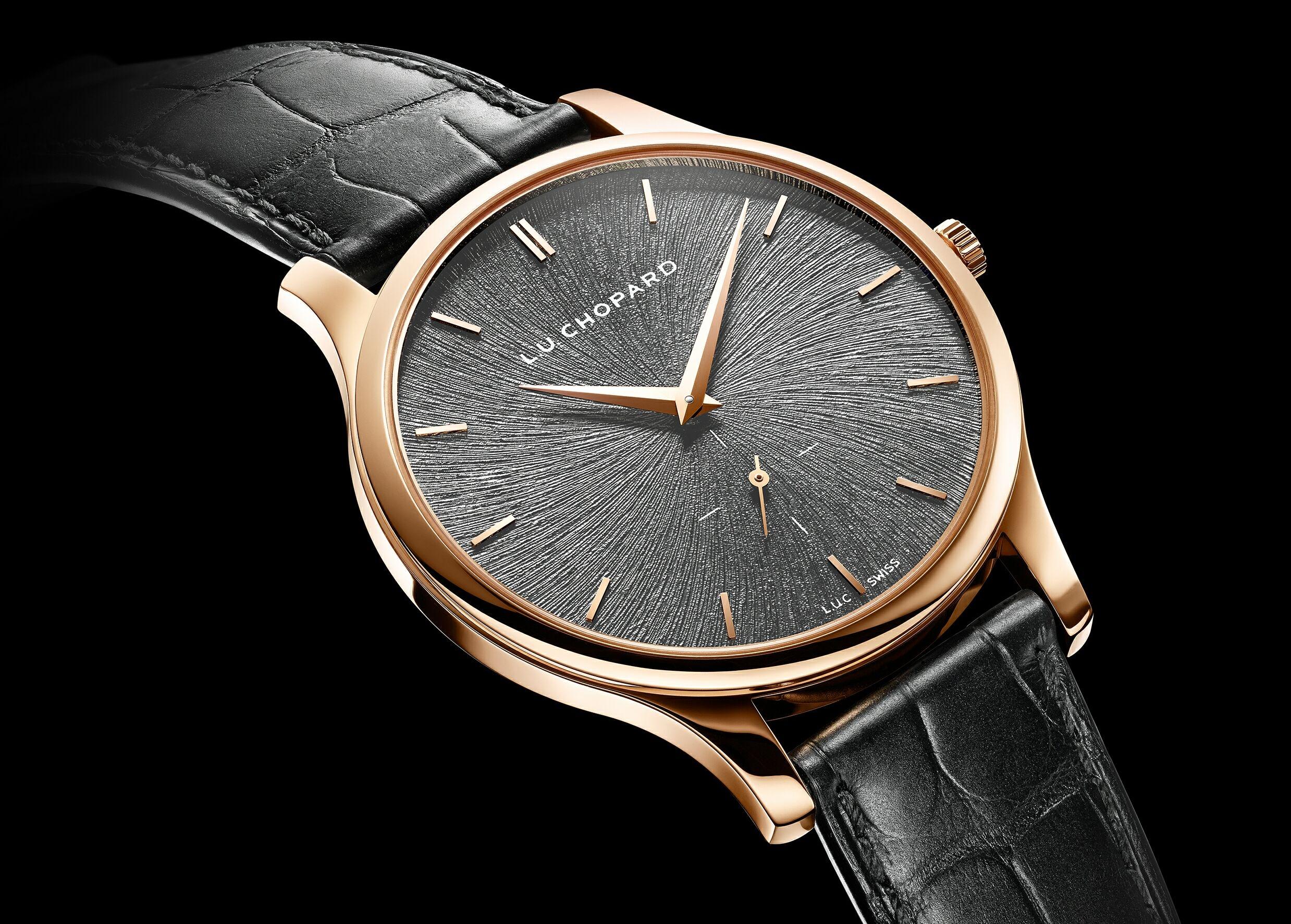 精準典雅、奢華有道:蕭邦L.U.C XPS Fairmined腕錶採用「公平採礦」認證的金原料製成