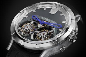 雙浮動式陀飛輪,開創製錶領域先河Manufacture Royale 1770 Micromegas腕錶