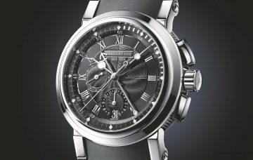 紀念寶璣大師被任命為法國海軍製作精密航海鐘200週年,寶璣推出Marine 5823限量計時碼錶