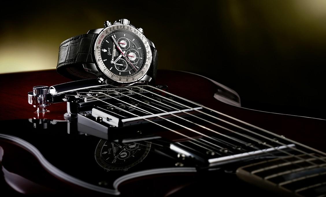 蕾蒙威推出靈感源自於GIBSON的最新音樂特別版NABUCCO腕錶