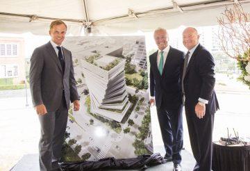 德州達拉斯勞力士大樓破土  改變都會風貌的有機城市建築新地標