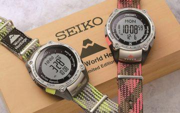 SEIKO PROSPEX打造富士山夏季之美,世界文化遺產富士山限量紀念錶款強力登台