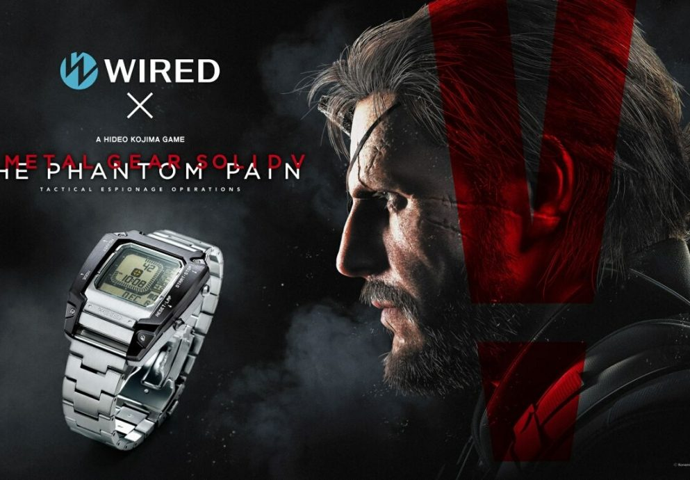 Wired x Metal Gear Solid V: The Phantom Pain限量聯名錶款9/3全球同步上市