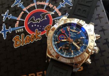 Breitling x 黑蝙蝠中隊──百年靈首款台灣特種部隊專用飛行時計,益莊鐘錶獨家販售